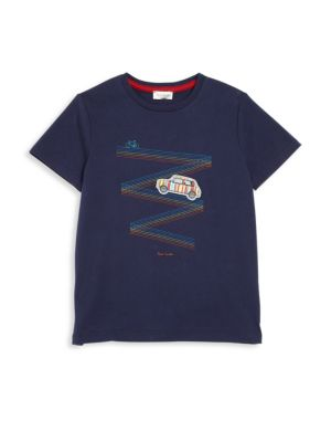 Toddlers Boys  Little Boys CarPrint Tee