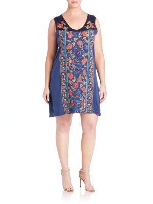 Pratima Tank Dress plus size,  plus size fashion plus size appare