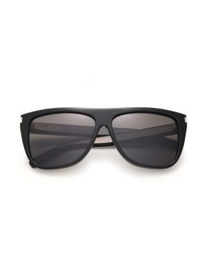 59MM Flat Top Sunglasses
