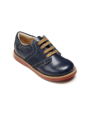 Baby's, Toddler's & Kid's Connor Leather Oxford Saddle Shoes