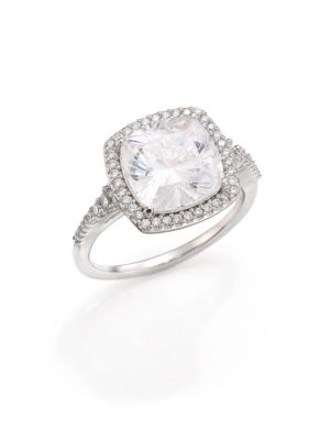 Faceted Pavé Ring