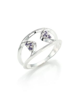 Apex Iolite & Sterling Silver Ring
