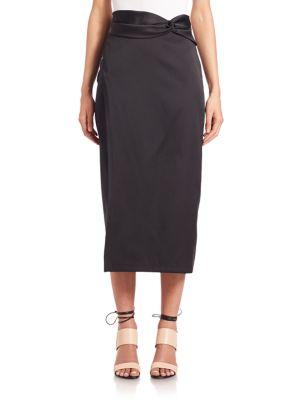 Knotted-Waist Skirt