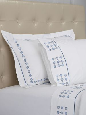 Harrogate Embroidered Standard Pillow Case