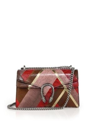 gucci female 243279 dionysus leather shoulder bag