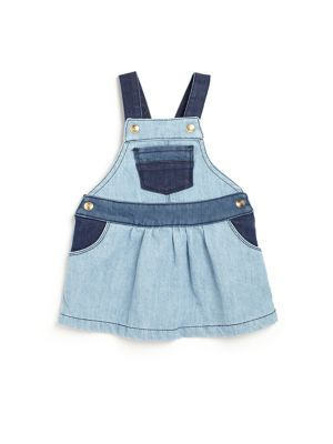 Babys Denim Dungaree Dress