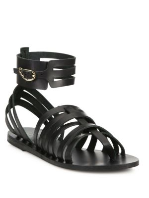 Zaira Leather Gladiator Sandals