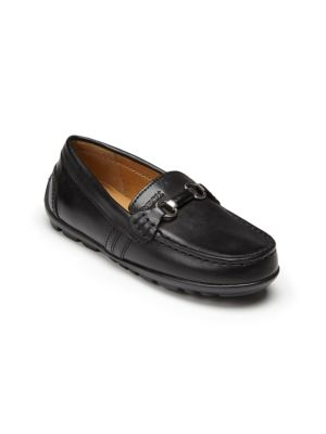 Toddler's & Kid's Leather Bit Moccasins