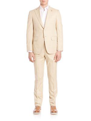 Solid Cotton Suit