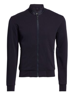 French Terry Zip Jacket
