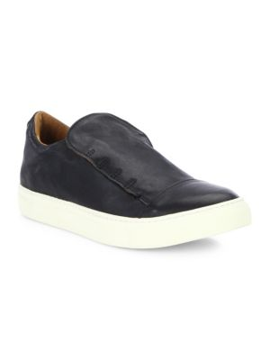 Reed Laceless Calfskin Low Sneakers