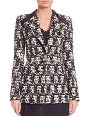 marc jacobs female 188972 maria callas jacquard jacket