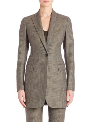 Falcon Wool & Cashmere Check Jacket