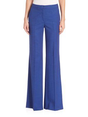 Christa Cool Wool Wide Leg Pants plus size,  plus size fashion plus size appare
