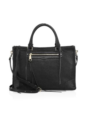Regan Leather Satchel