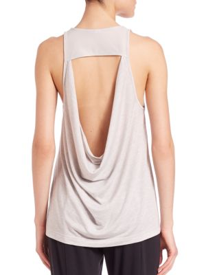 Vapor Cutout Back Tank plus size,  plus size fashion plus size appare
