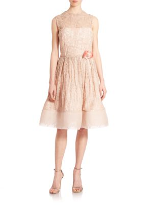Gidgette Guipure Lace Dress