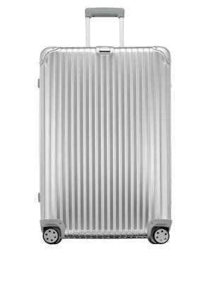 Topas Aluminum 32-Inch Multiwheel Suitcase 0400089285388