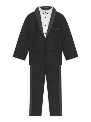 Little Boy's 4-Piece Tuxedo Set