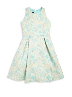 Girl's Damask Dress