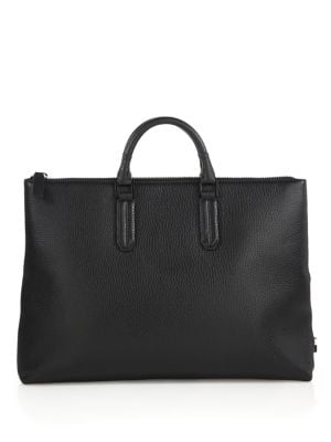 Devin Pebbled Leather Tote