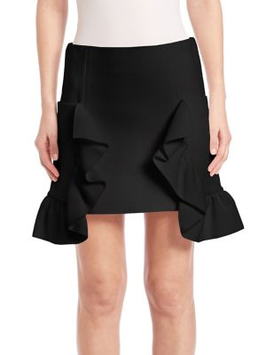 Ruffled Miniskirt plus size,  plus size fashion plus size appare