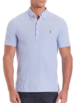 Solid Cotton Polo