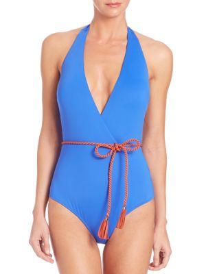 One-Piece Goldie Plunge Swimsuit