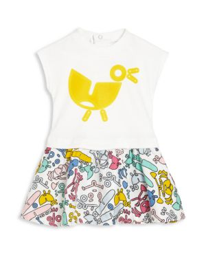 Toddlers Printed Dress