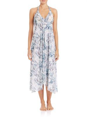Printed Cotton Handkerchief Dress