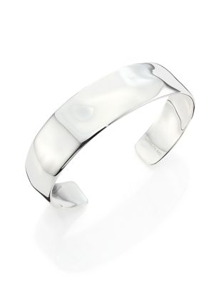 Glamazon Hammered Sterling Silver Cuff Bracelet