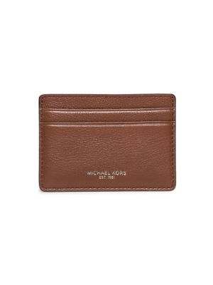 michael kors male leather card case
