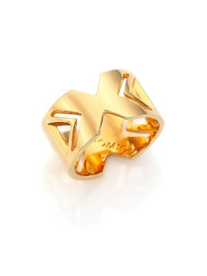 Brasilia 18K Goldplated Bronze Novo Ring