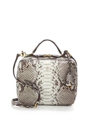 Laura Large Python Camera Bag