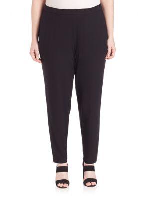 Slim Ankle Slouchy Pants plus size,  plus size fashion plus size appare