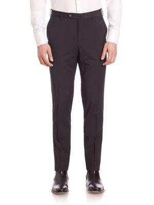 Classic Wool Blend Trousers