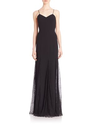 Chantilly Trim Slip Gown