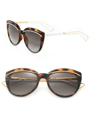 Liner 60MM Oversized Round Sunglasses