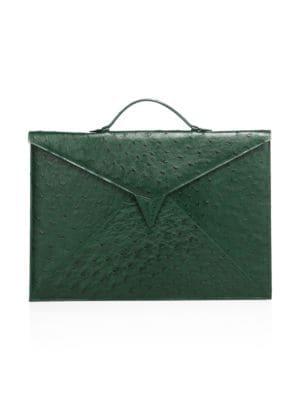 Sir Tillman Ostrich Briefcase