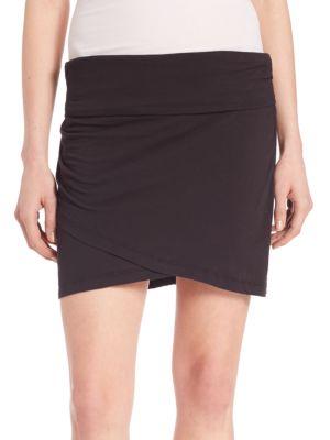 High-Waisted Wrap Skirt plus size,  plus size fashion plus size appare