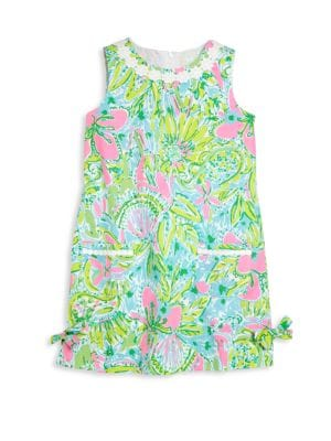 Tiddlers  Little Girls Classic Shift Dress
