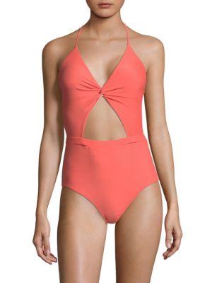 Divine One-Piece Cutout Swimsuit