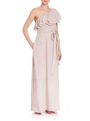 Arden Sheer Flounce Dress Coverup