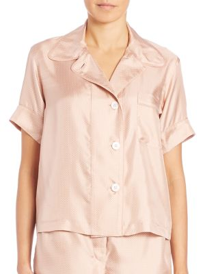 Shelby Silk Pajama Top