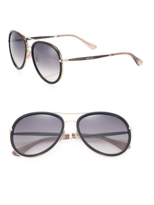 Tora 57MM Aviator Sunglasses