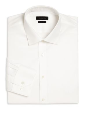 COLLECTION Diamond Printed Wrinkle-Free Dress Shirt