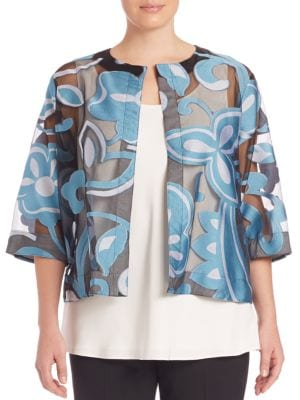 Felicita Jacket plus size,  plus size fashion plus size appare
