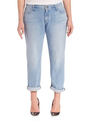 Classic Boyfriend Jeans plus size,  plus size fashion plus size appare