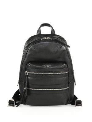 marc jacobs female 188971 leather backpack