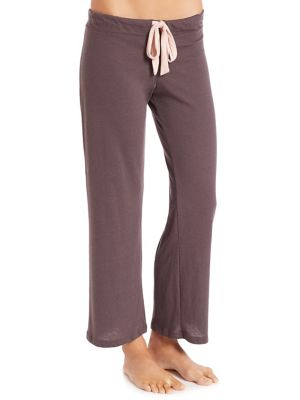 Heather Wide-Leg Pants